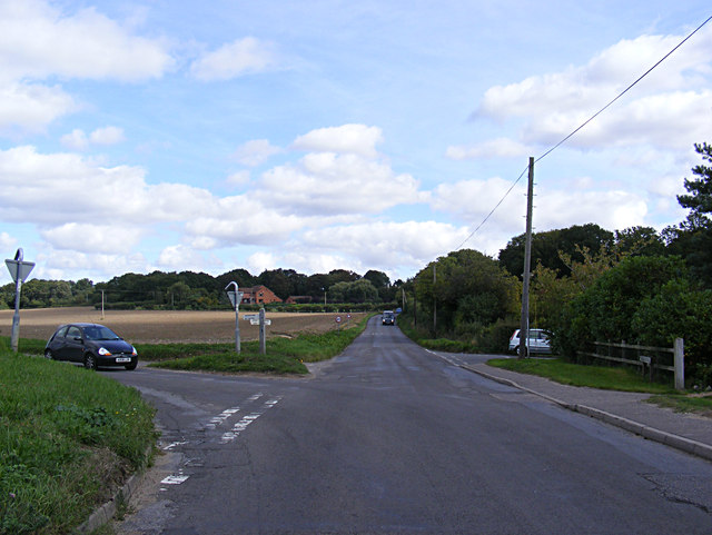 Hall Lane, Drayton