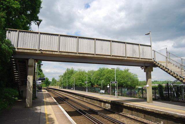 Footbridge, Robertsbridge Station