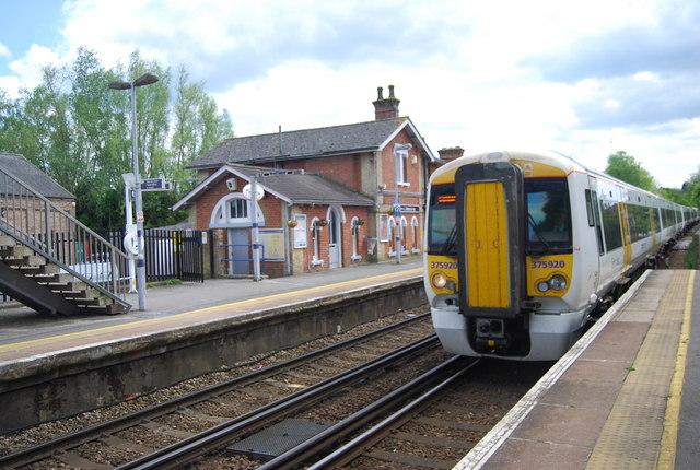 London bound train, Robertsbridge