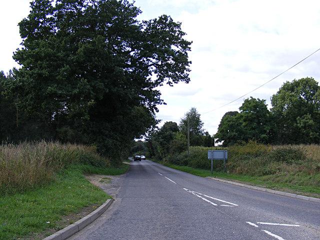 Hall Lane, Horsford