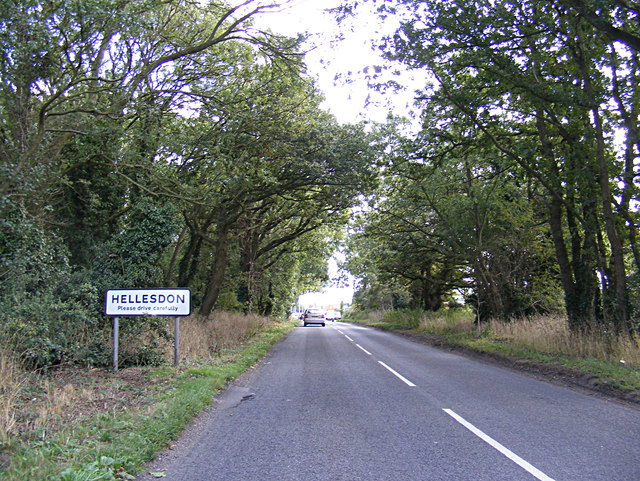 Entering Hellesdon on Reepham Road