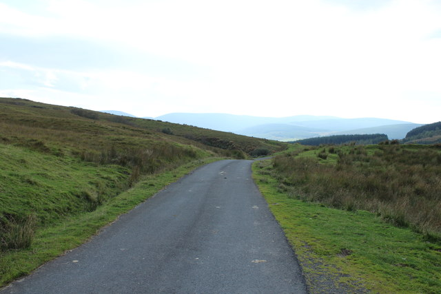 Road to Glentrool near Doughty