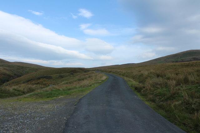 Road to Crosshill near Doughty