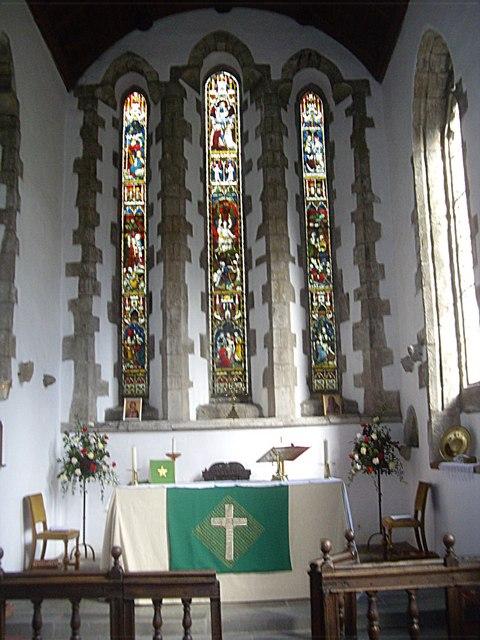Altar and Chancel of Lanchester Parish Church