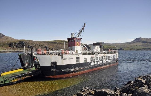 Calmac Ferry, Kilchoan
