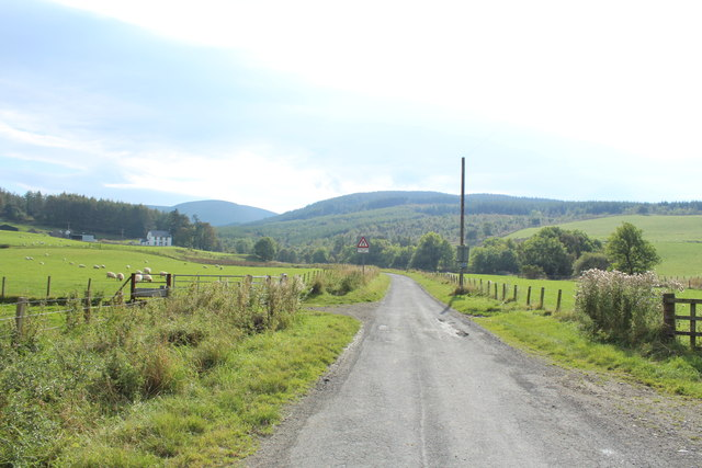 Road to Glentrool at South Balloch