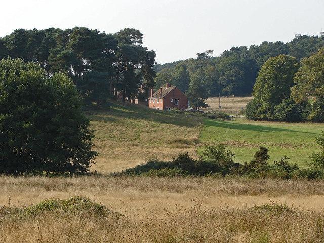 Rural scene near Broadmoor Hospital