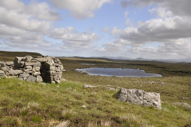 Stone Structure by a Loch