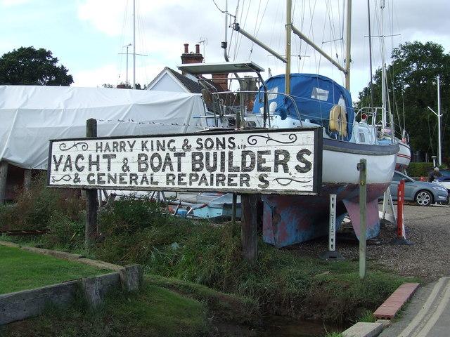 Boatyard Name Sign