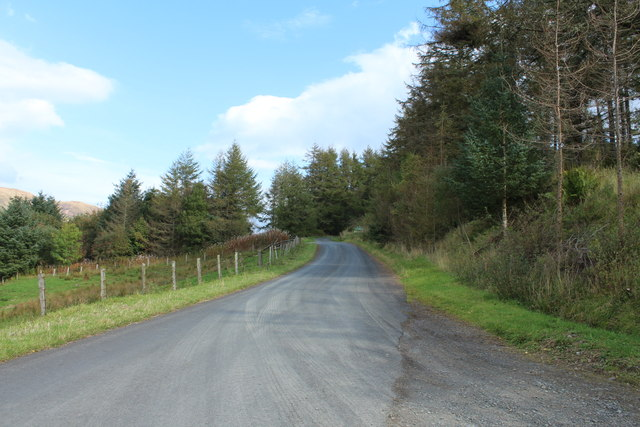 Road to Glentrool at Pinvalley