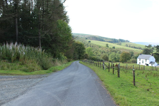 Road to Crosshill at Pinvalley
