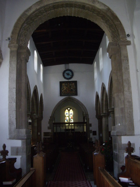 Chancel Arch and Nave, Lanchester Parish church