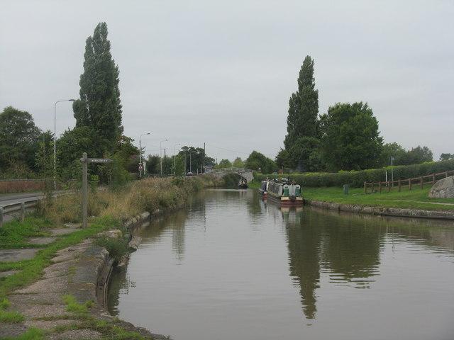 Shropshire Union Canal at Wardle