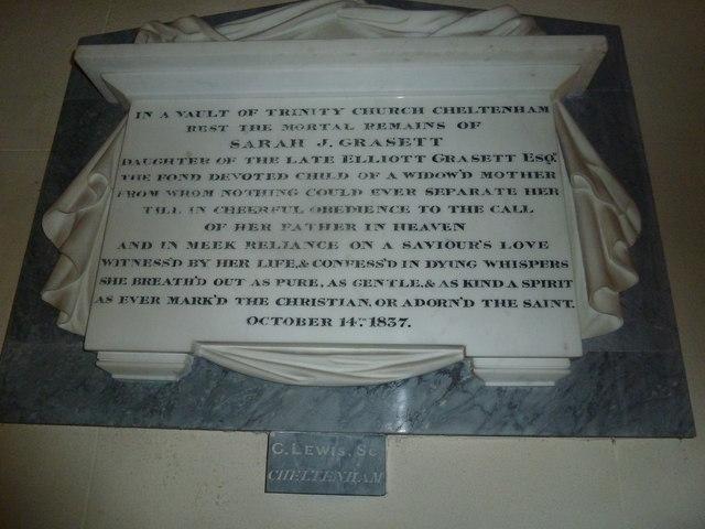 St Osmund, Osmington: memorial (e)