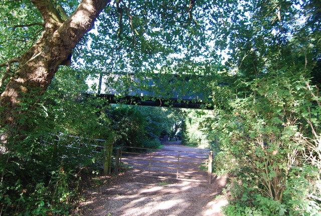 Railway Bridge, Mill Lane