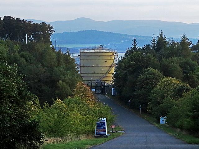 Gas terminal, Braefoot Bay