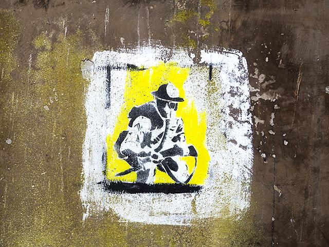 Graffiti at Charles Hill