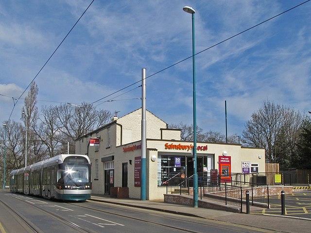 Former Vernon Arms, now a Sainsbury's Local