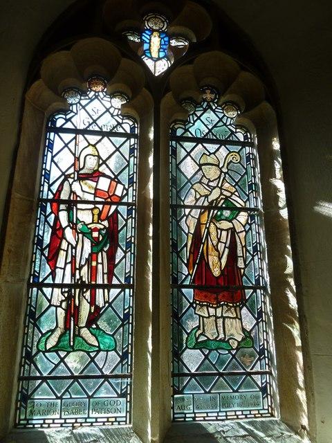 St Osmund, Osmington: stained glass window (I)