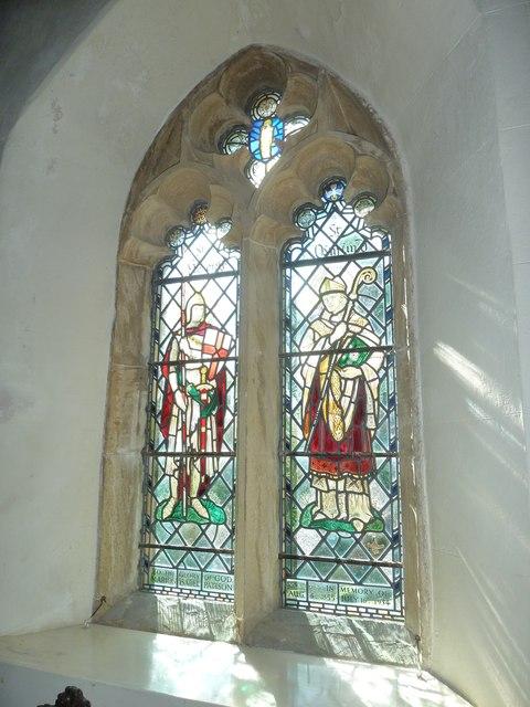 St Osmund, Osmington: stained glass window (II)
