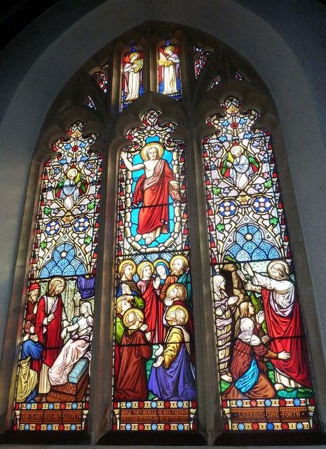 St Osmund, Osmington: stained glass window (III)