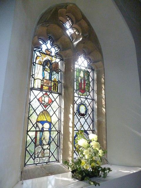 St Osmund, Osmington: stained glass window (IV)