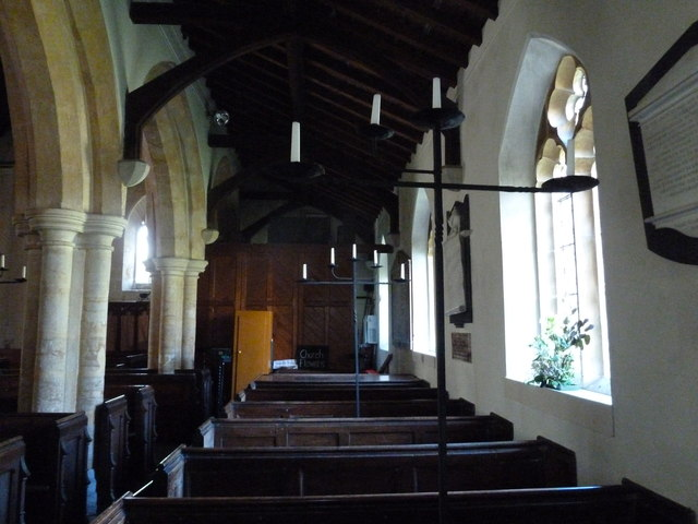 Inside St Osmund, Osmington (B)
