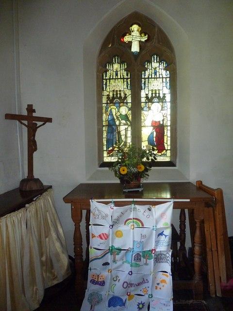 Inside St Osmund, Osmington (C)