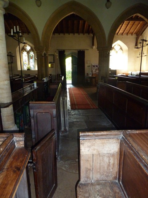 Inside St Osmund, Osmington (C)