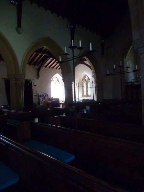Inside St Osmund, Osmington (E)