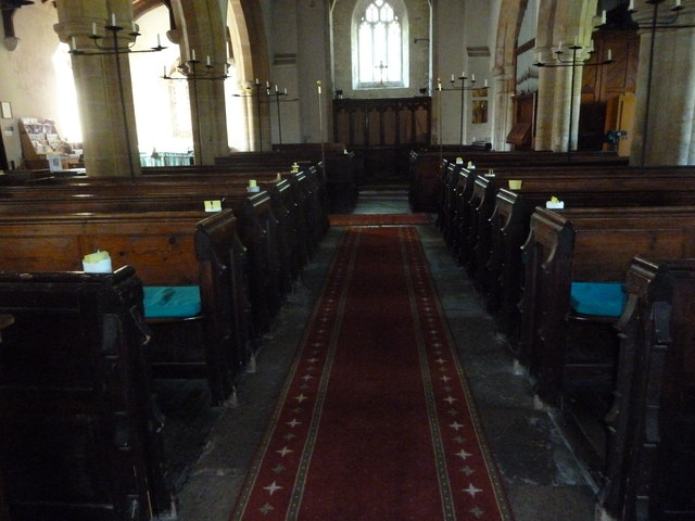 Inside St Osmund, Osmington (F)