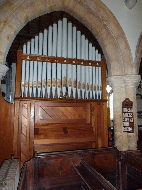 St Osmund, Osmington: organ
