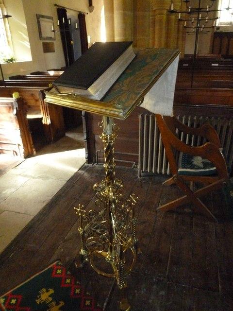 St Osmund, Osmington: lectern