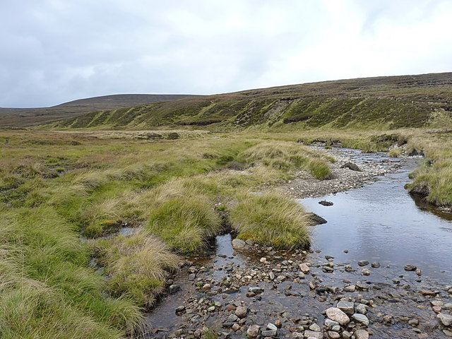 Upstream on the upper Feshie Water