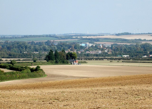 A view towards Ickleton