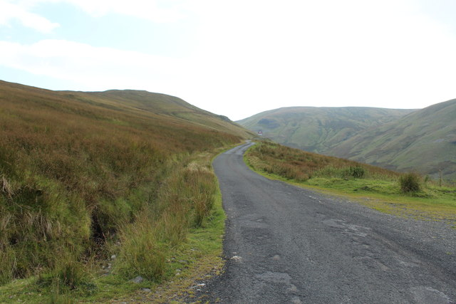 Road to Glentrool at the Nick of the Balloch