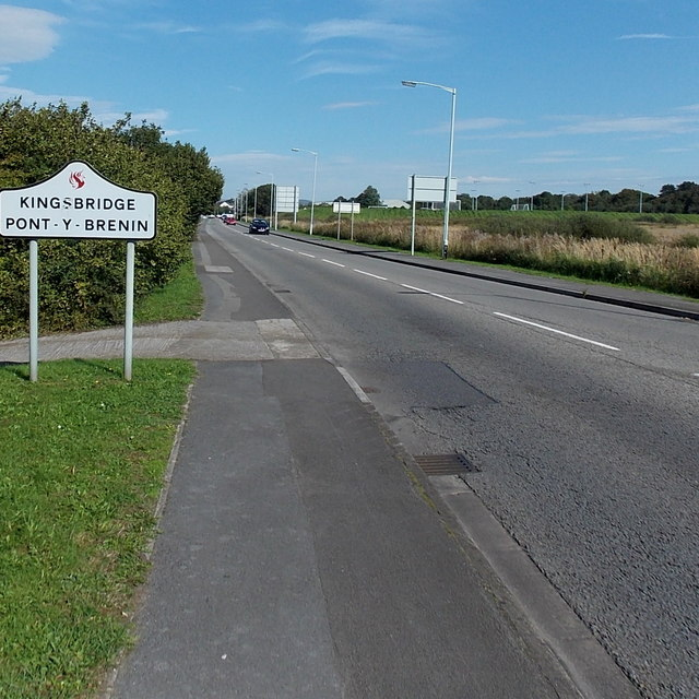 Southern boundary of Kingsbridge