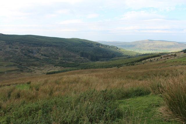 Moorland near Balloch Hill