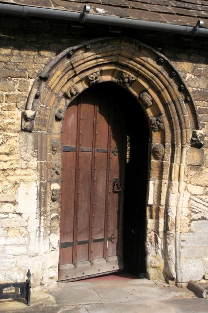 South door, St John the Baptist's Church