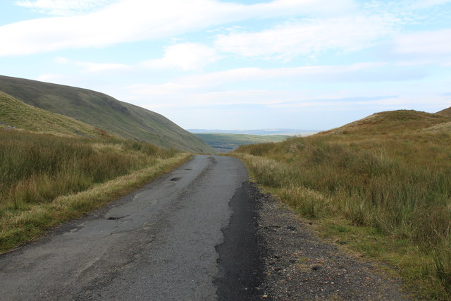 Road to Crosshill at the Nick of the Balloch
