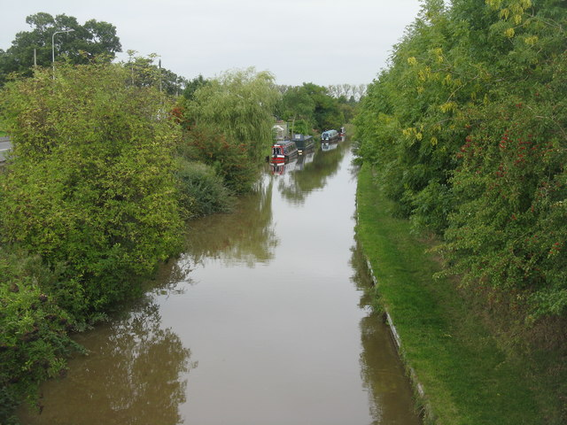 The Shropshire Union Canal at Wardle