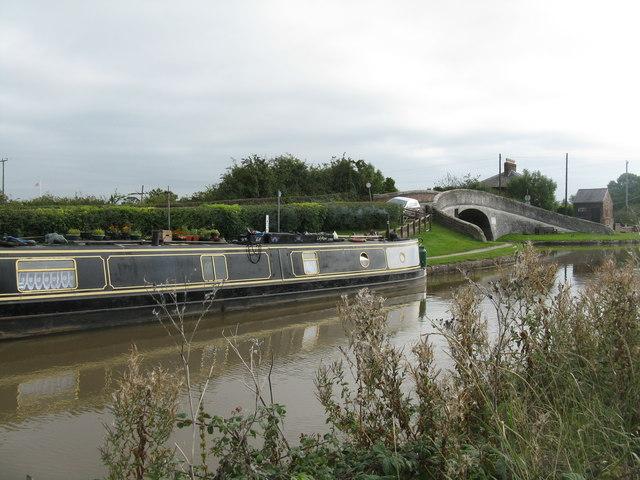 'Lily Rose' at Barbridge Junction