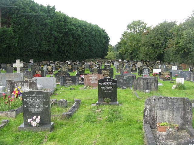 Churchyard at Acton