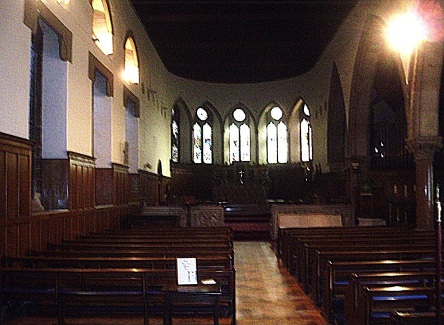Nave and Chancel of St Cuthbert's Church
