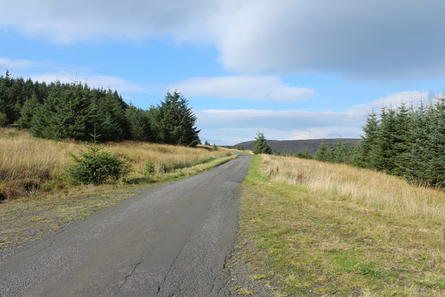 Road to Crosshill near Rowantree Hill