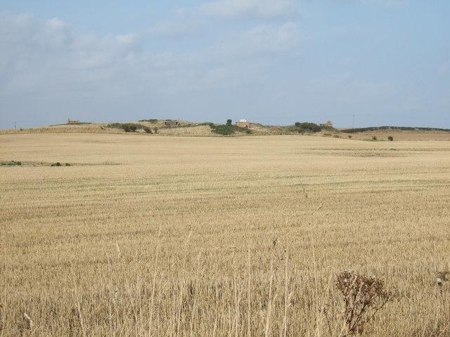 Farmland towards the former RAF Bempton