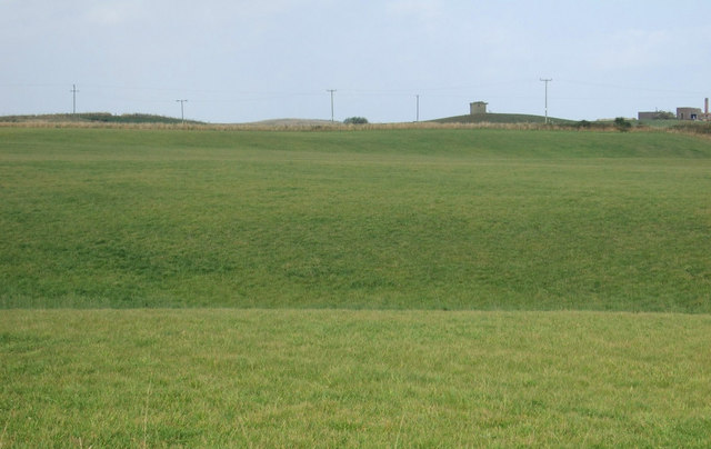 Grazing towards the former RAF Bempton