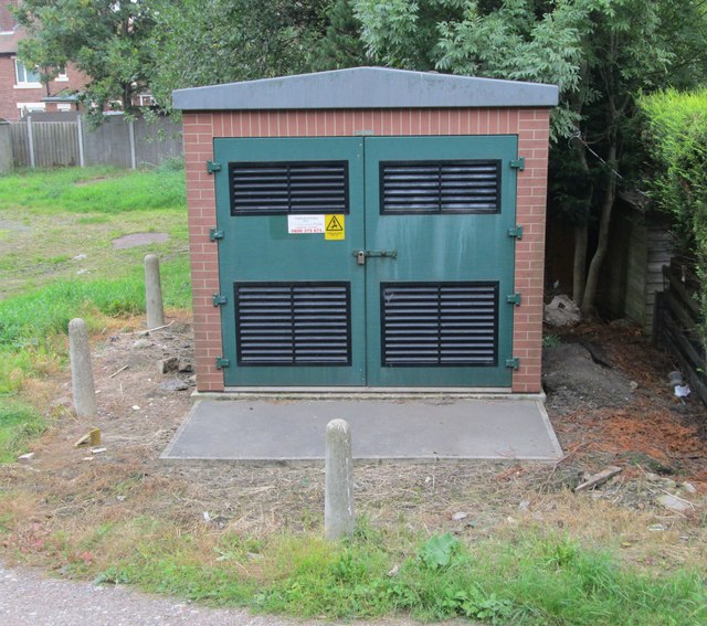 Electricity Substation No 5721 - Potovens Lane