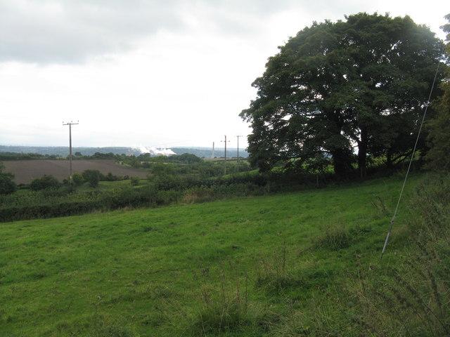 Farmland at Little Wenlock