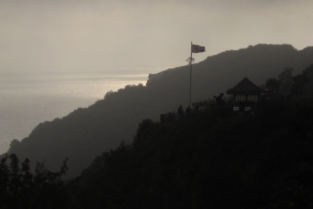 Coastal view at Babbacombe